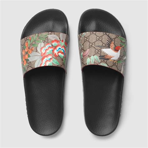 Gucci Gg Blooms Floral Flats 268 3 s gucci tian slide sandal gucci s sandals