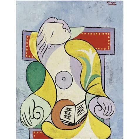 libro picasso portraits picasso s la lecture sells at sotheby s for 163 25 2 million
