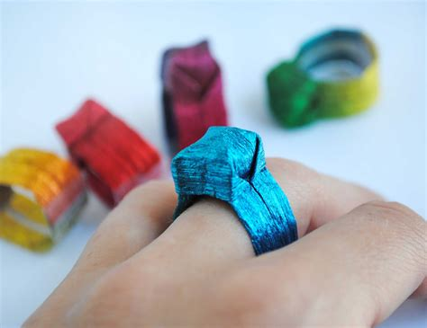 How To Make An Origami Ring - ring origami paper crafts 2018