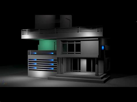 3d max home design tutorial how to model simple house 3ds max tutorial part 2