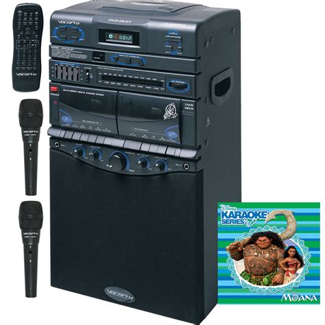 vocopro dvd duet 80w multi format karaoke all in one system