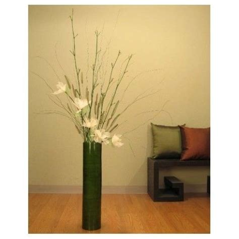 Floor Vase With Branches by Lilies Bamboo Floor Vase Branches 25 Inch Decorating