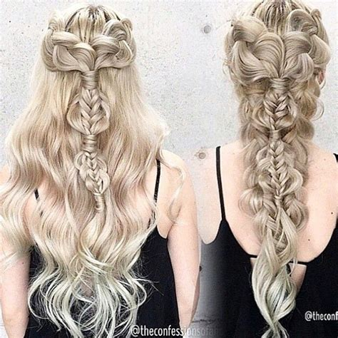 how to do khaleesi braids all bow down to the khaleesi daenerys targaryen inspired