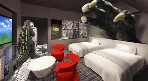 Godzilla Themed Hotel Japan | world s first godzilla themed hotel opens in the famous