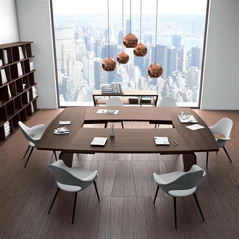 tavolo della tavolo da riunione moderno larus di andrea stramigioli