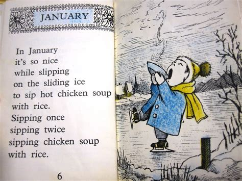 libro chicken soup with rice chicken soup with rice a book of months by maurice sendak reviews discussion bookclubs lists