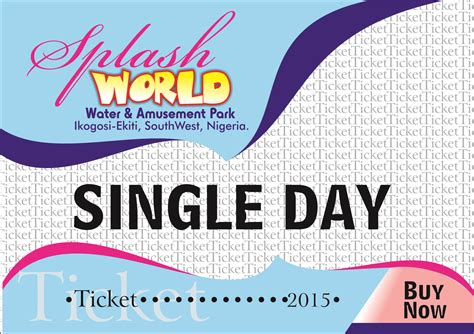 how much is a 1 day ticket to bronner brothers hair show single ticket splashworld water park