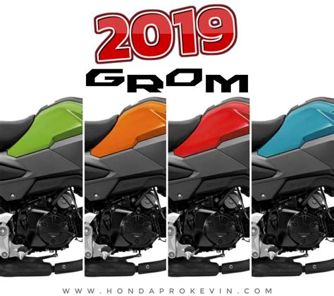 2019 Honda Grom Specs by 2019 Honda Grom Review Specs New Changes 125 Cc
