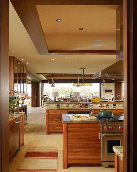 Tropical Kitchen Design by Hawaii Residence Tropical Kitchen Hawaii By Slifer