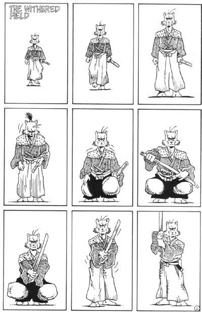 Tas Usagi rese 241 a de usagi yojimbo saga 2 stan sakai es la hora