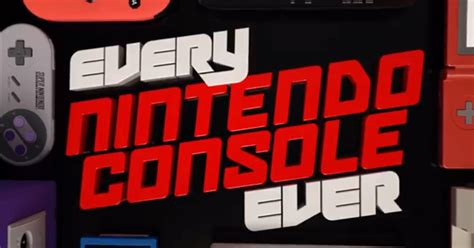 Every Nintendo Console by Every Nintendo Console New 92 7 Mix Fm