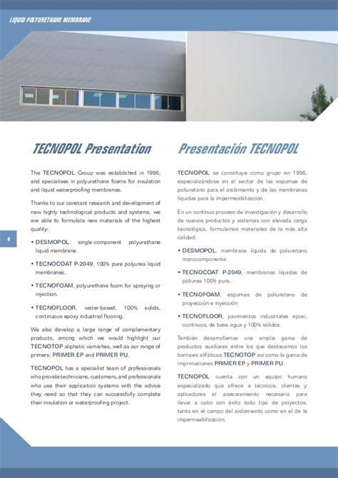 Notre Dame Mba Brochure by Desmopol Polyurethane Brochure