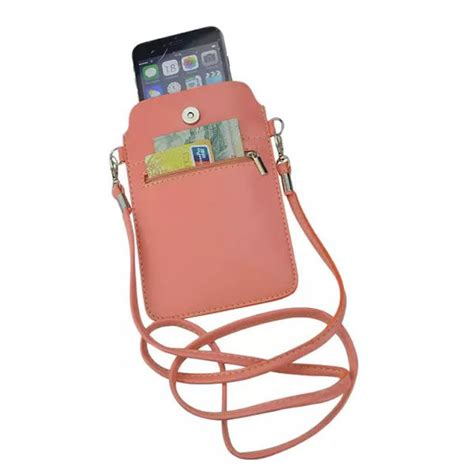 free shipping cell phone bag with shoulder high