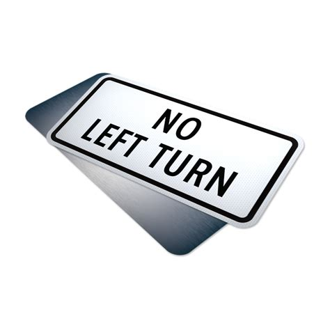 Led Lu Mobil Driving Signal Left Right Turn 120cm No Left Turn Tab Traffic Supply 310 Sign