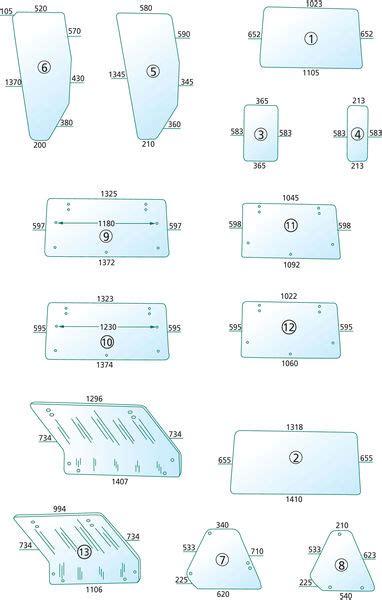 vetri per cabine trattori ricambi vetri cabina trattori