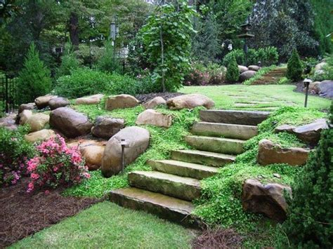 landscaping ideas for small sloping backyards 45 best sloping backyard images on pinterest sloped