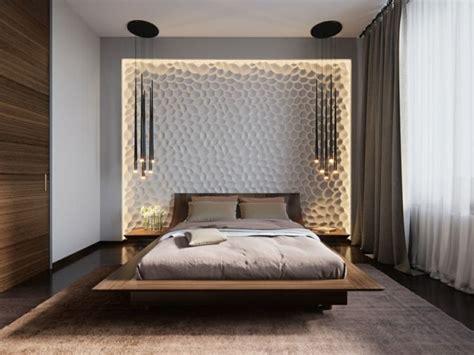 wandpaneele schlafzimmer beleuchtung im schlafzimmer mit 3d wandpaneele und