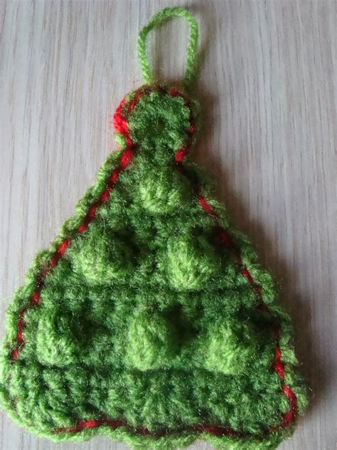 crochet pattern christmas tree ornament handmade by camelia pattern three ornaments crocheted