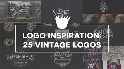 the design inspiration 25 beautiful vintage logos for design inspiration