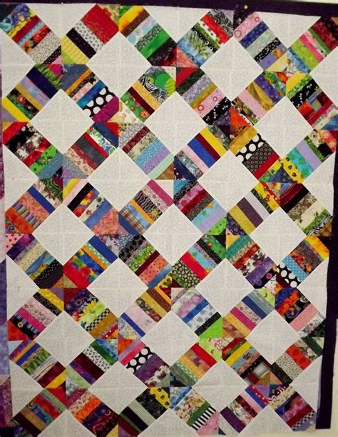 scrappy quilt idea quilting