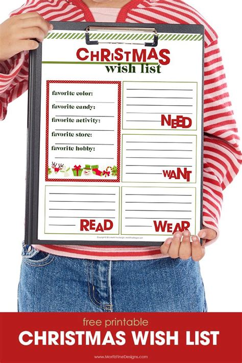 best 25 christmas list printable ideas on pinterest