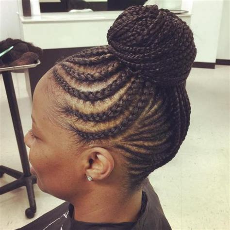 Black Braided Updo Hairstyles by Hairstyles For Braided Updo Hairstyles For Black