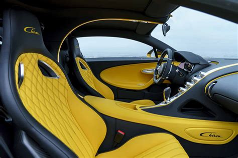 yellow bugatti chiron yellow bugatti chiron pebble beach 06 fourtitude com