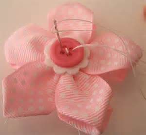 Long Upholstery Needle Ribbon Flowers By Makebowsandmore Com