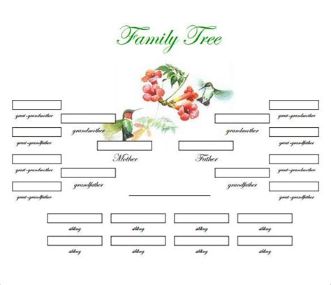family tree template docs family tree templates free premium templates