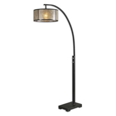 Floor Lights Uttermost 28597 1 Cairano Rubbed Bronze Finish 79 5