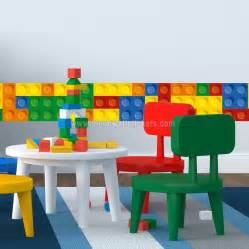 Lego City Wall Stickers lego brick wall decals brick border wall sticker moon wall stickers
