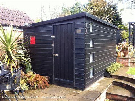 creative hitman s shed office workshop studio from garden