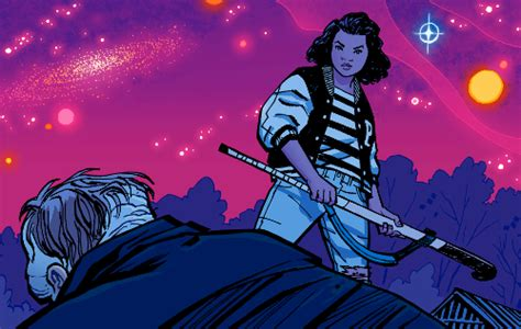paper girls n 11 paper girls 1 5 goonies meets army of darkness in a breakfast club dystopia