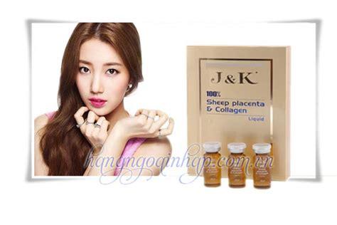 Amino Collagen Ji j k sheep placenta collagen kem d豌盻 ng da cao c蘯 p c盻ァa 218 c dhp