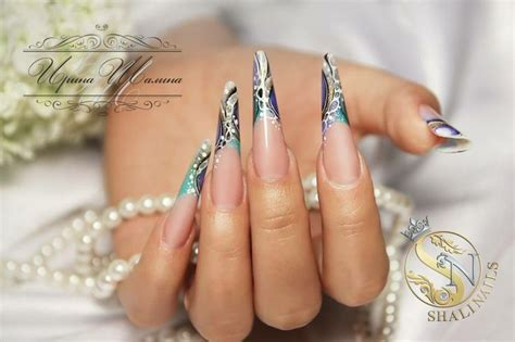 Shalina Blue 71 best images about russian almond nails on