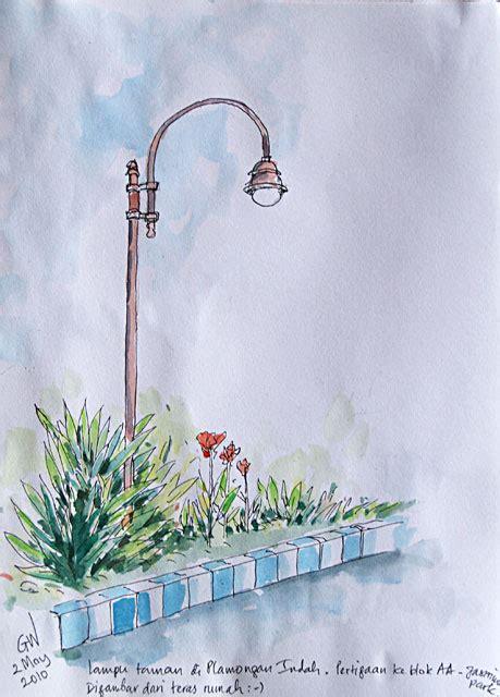 gambar lampu taman model lampu sorot taman  gambar