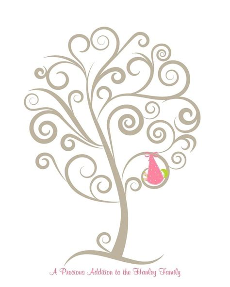 wedding tree guest book free template free printable baby book templates best of wedding tree