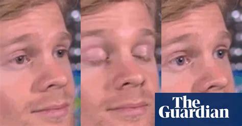 meet  man   white guy blinking meme