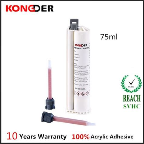 Corian Solid Surface Adhesive 75ml Solid Surface Adhesive Solid Surface Acrylic