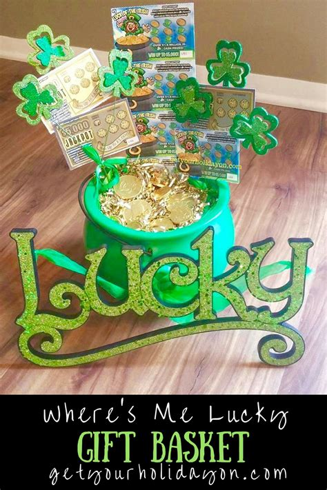 s day secret pal gifts where s me lucky st s day gift basket get your