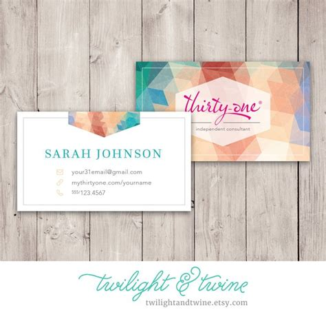 thirty one business card template 54 best images about thirty one scentsy business cards