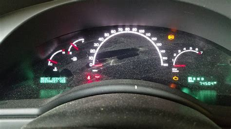 How Many Left When Gas Light Comes On by 2006 Chrysler Pacifica 3 5l Change Light Reset Service