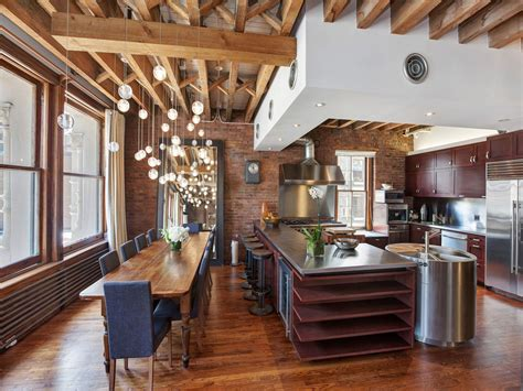 Dc Apartments Exposed Brick Decorations Ultimate Soho Exposed Brick And Wood Beams