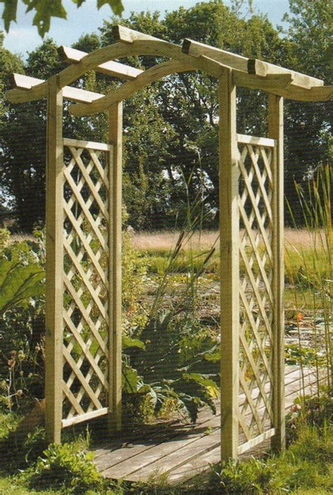 Garden Arch Materials Wooden Garden Arches How To Build A Shed Material List