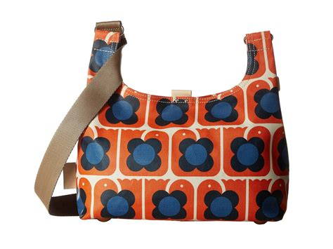 Going Loopy For This Bird Sling Bag From Loop by Orla Kiely Birds Print Mini Sling Bag Lyst
