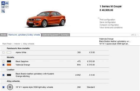 Bmw 1er 2011 Preisliste bmw 1er m coup 233 auf bmw co uk und bmw de endlich