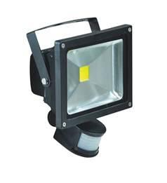 20w led security led flood light with pir sensor l320b