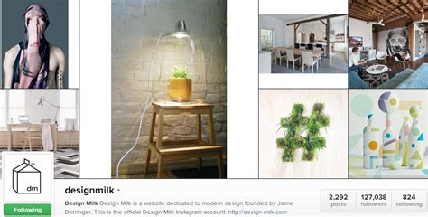design milk blog 5 interiors instagrammers you should be following press