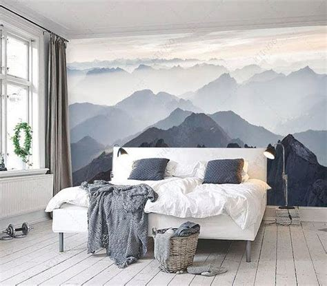 how to paint a mural on a bedroom wall best 25 mountain bedroom ideas on pinterest mountain