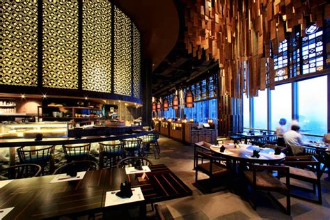 design interior cafe indonesia enmaru japanese fine dining restaurant by metaphor